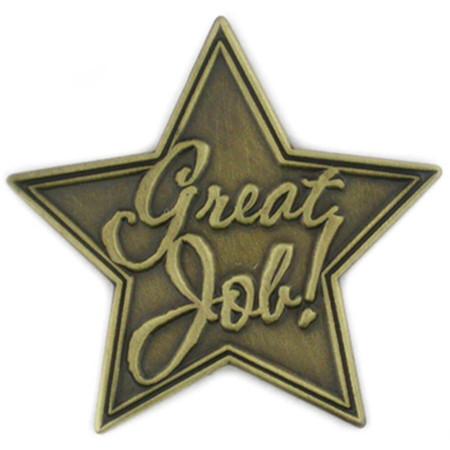 Great Job Pin