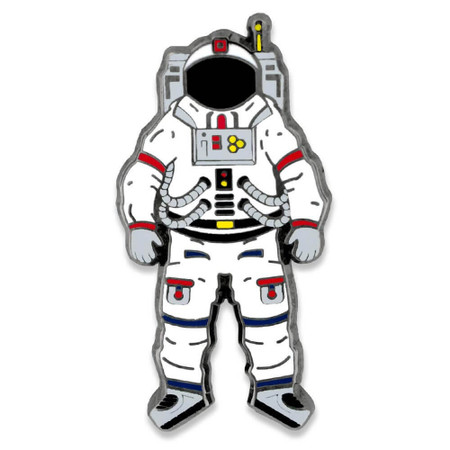 Astronaut Pin Front