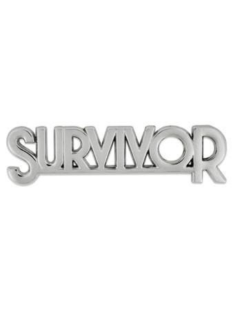 Survivor Pin Front