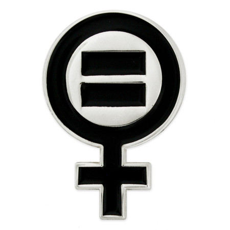 Women's Rights Pin Front