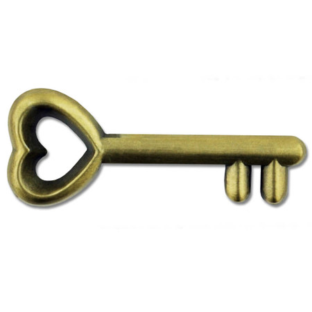 Antique Key Pin