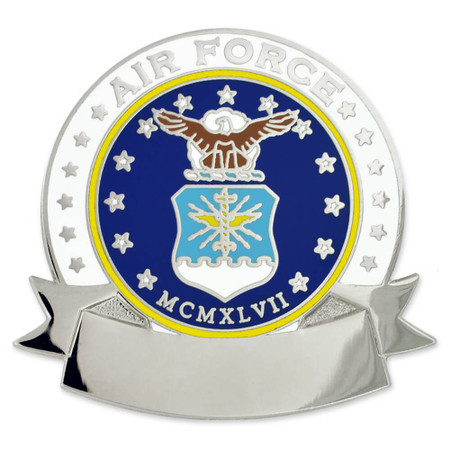 Air Force Pin - Engravable Front