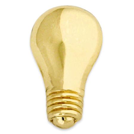 Light Bulb Lapel Pin Front