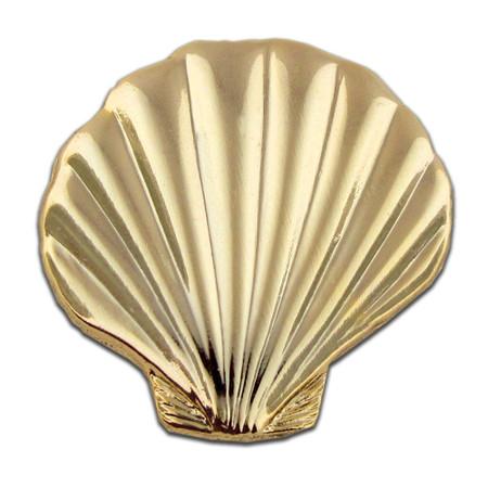 Sea Shell Pin Front