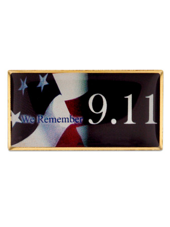 We Remember 9.11 Pin Front