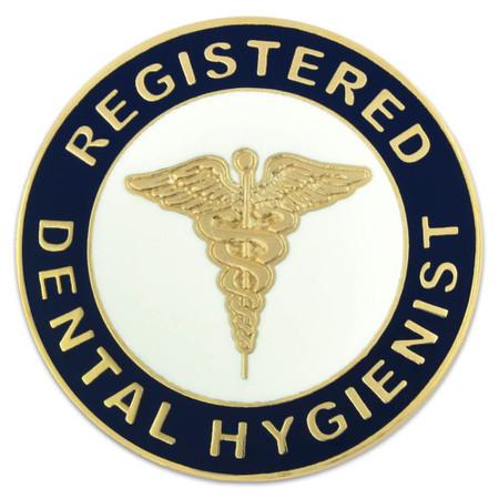 Registered Dental Hygienist Pin Front