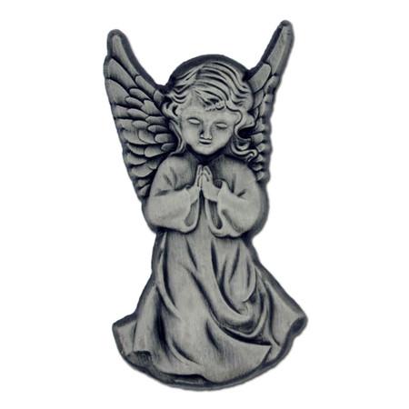 Silver Praying Angel Pin
