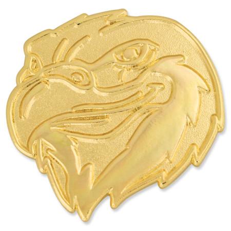 Eagle Mascot Chenille Pin Front