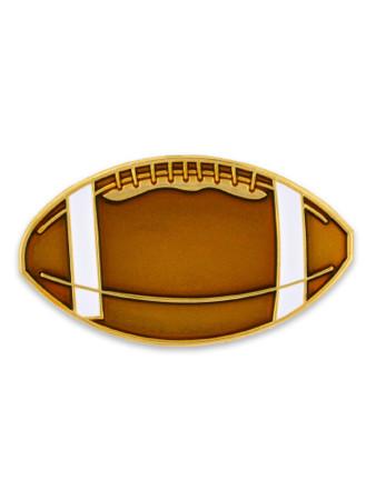 Football Pin Front