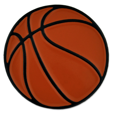 Basketball Sports Pin Front