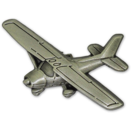 Propeller Airplane Pin Front