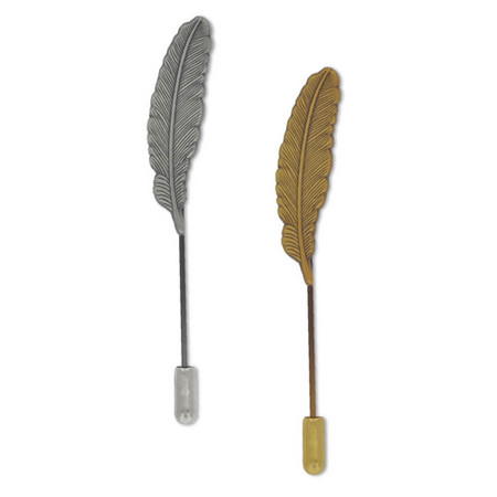 Feather Stick Pin