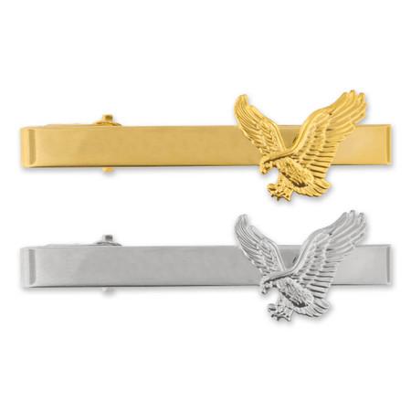 American Eagle Tie Clip-Engravable Front
