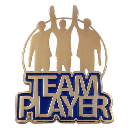 Team Player Pin