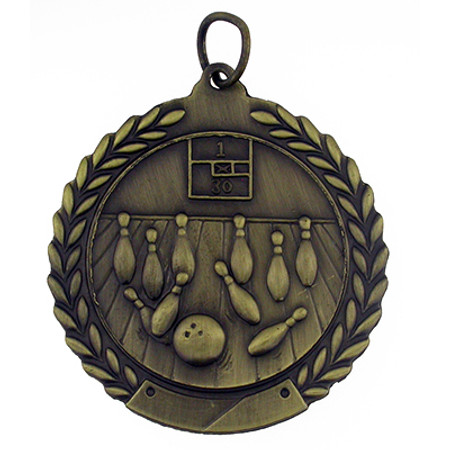 Bowling Medal - Engravable