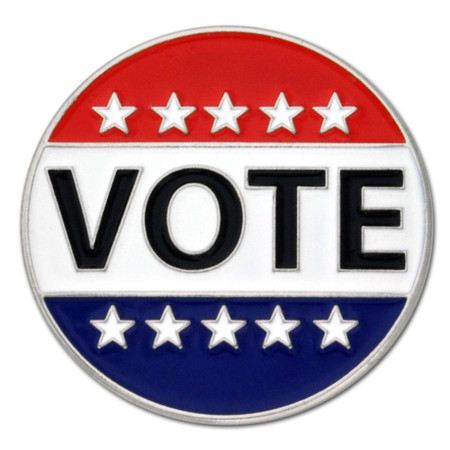 VOTE Lapel Pin