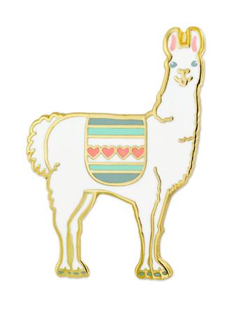 Llama Pin Front