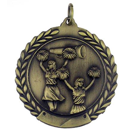 Cheerleading Medal - Engravable