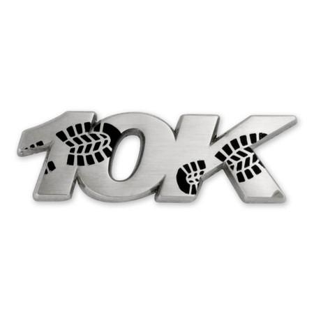 10K Run Pin Front