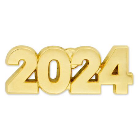 2024 Year Lapel Pin Front
