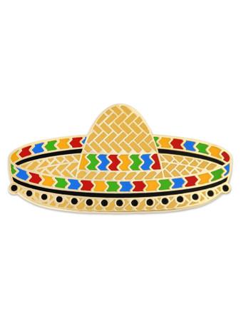 Sombrero Pin Front