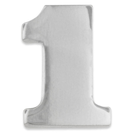 Silver 1 Pin Front