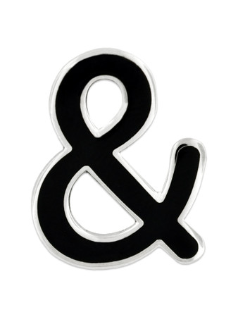 Ampersand & Pin Front