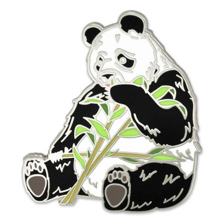 Panda Lapel Pin Front