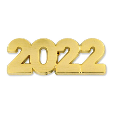 2022 Year Lapel Pin Front