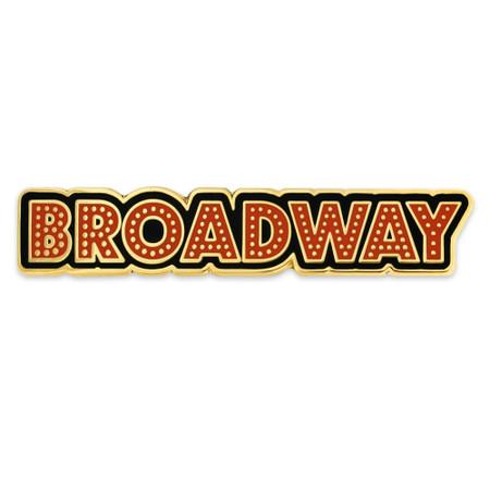 Broadway Lapel Pin Front