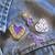Domestic Violence Awareness 4-Pin Set Alt View