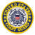 Officially Licensed U.S. Coast Guard Patch Front