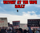 Victory at The White House Vape Rally