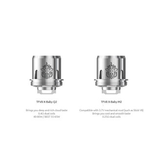 SMOK TFV8 X-Baby Beast Brother -  Replacement Coils (Pack of 3)