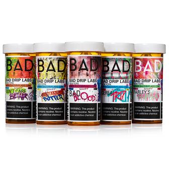Bad Drip Salts Collection 30ml Nic Salt Vape Juice