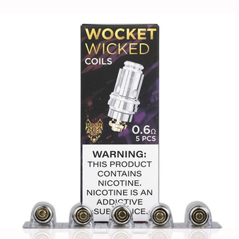 SnowWolf Wicked Replacement Coils (Pack of 5) | For the Afeng Pod Device