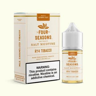 Four Seasons E-Liquids Collection 30ml Nic Salt Vape Juice