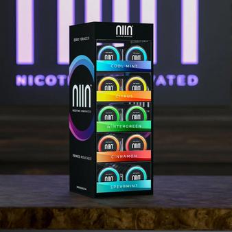 NIIN Pre-Loaded Display Case