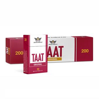 TAAT Zero Nicotine Cigarette Carton