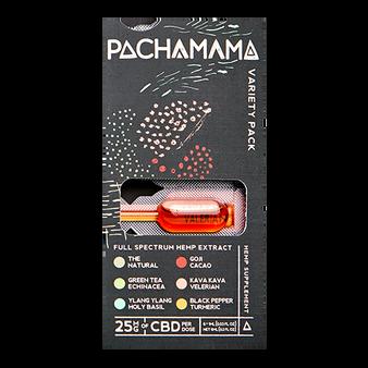 Pachamama CBD Tincture Variety Pack (20pcs)