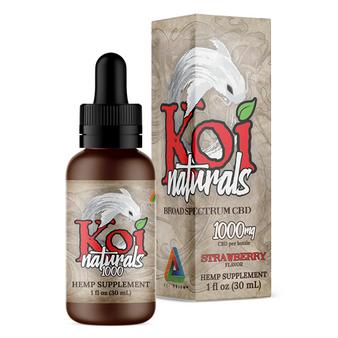 Koi Naturals 30ml CBD Tinctures