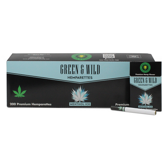 Green & Wild Premium Hemparettes Carton