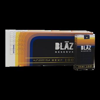 BLAZ Reserve Ultra-Premium Hemp Smokes 100s Carton (10 Packs)