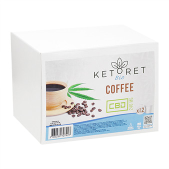 Ketoret Bio CBD Coffee K-Cups (12x Pack)