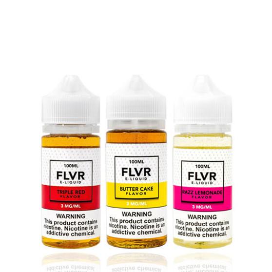 FLVR Collection 100ml Vape Juice