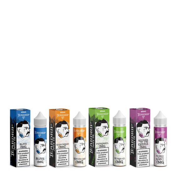 Teardrip Collection 60ml Vape Juice