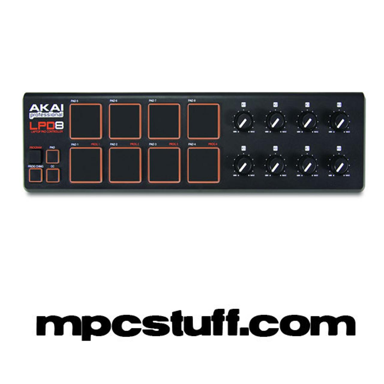 Akai LPD8 MIDI USB Controller MPC Sample Pad