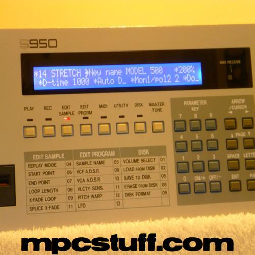 Akai S900 /& S950 Led Display