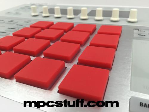 NATIVE INSTRUMENTS MASCHINE V2 THICK FAT PADS W// LED SHINE THRU MPCSTUFF