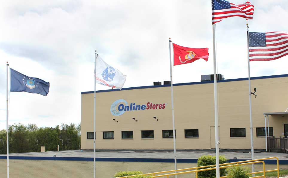 Online Stores building outside